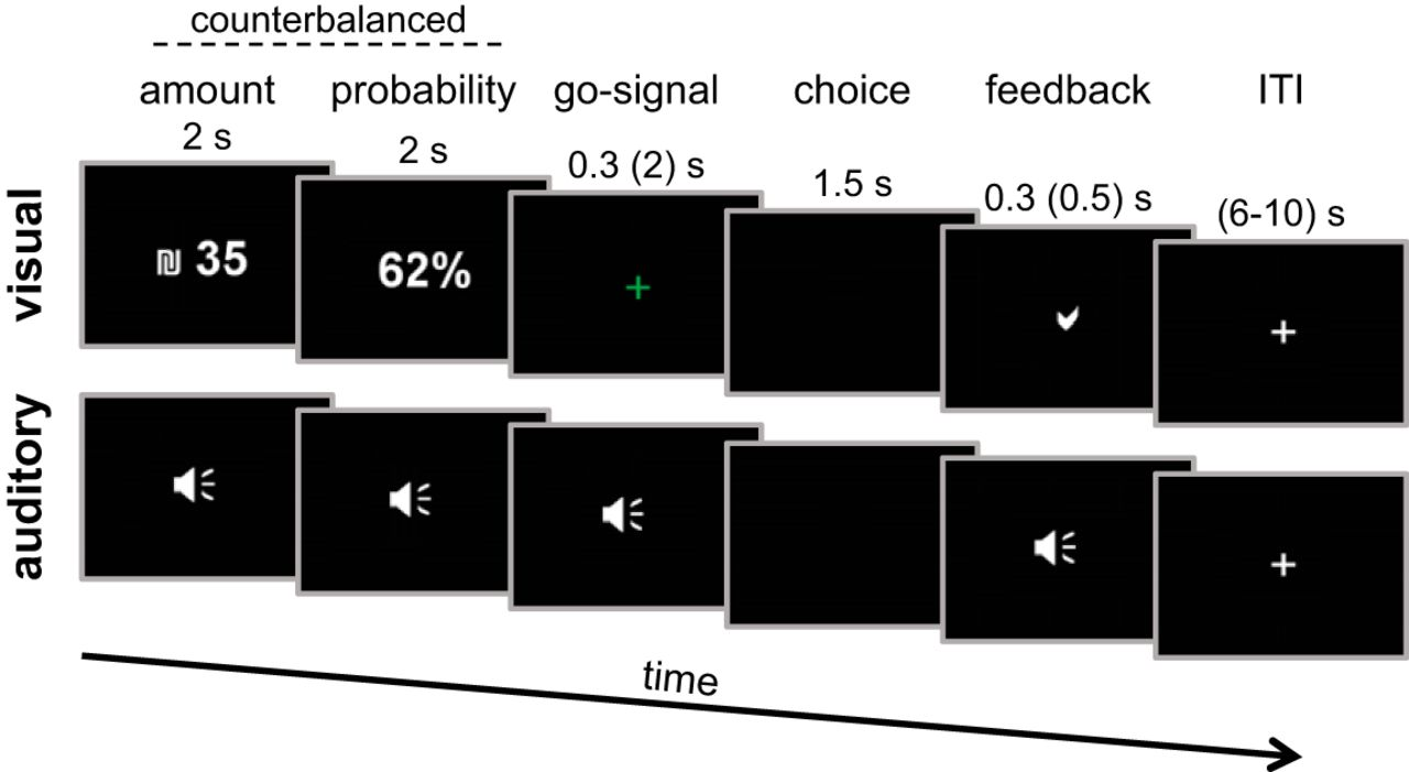 Common Sense in Choice: The Effect of Sensory Modality on Neural