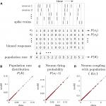 A Tractable Method for Describing Complex Couplings between Neurons and Population Rate